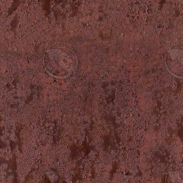 seamless red rust texture