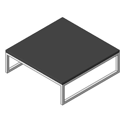 Table - Boss Design - Layla Coffee Table - Square