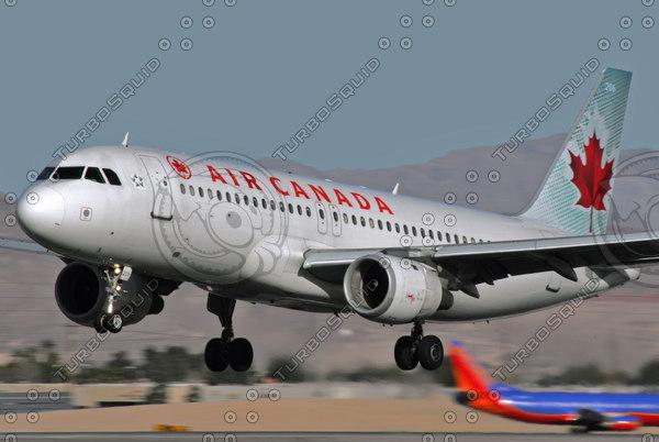 AIR CANADA AIRBUS A320 C-FDSN LAS