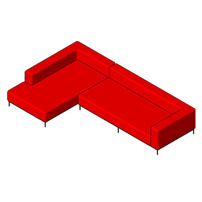 Cielo - Modern Sectional Sofa
