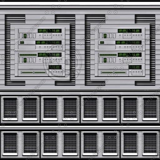 Shiny computer panel 3