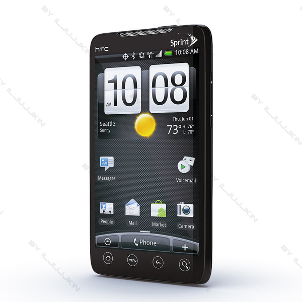copy htc evo 3d model - HTC evo... by iljujjkin