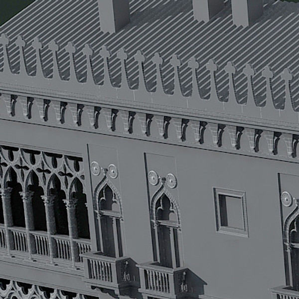 maya scene palaces house buildings - Venice Palaces - Grand Canal Scene... by 3DMarko ex Til E