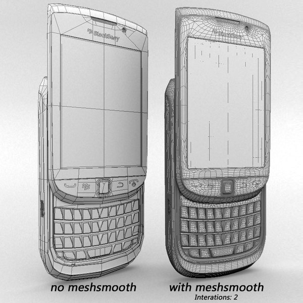 3d model blackberry torch 9800 - Blackberry Torch 9800... by sweiry_tv