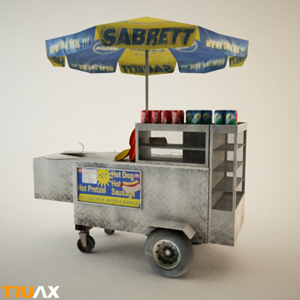 Truax Studio Hot Dog Vendor