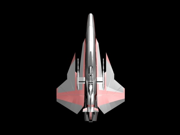 3d military fighter yf80 dragonhawk - YF80_Dragonhawk.3DS... by berkan alptekin