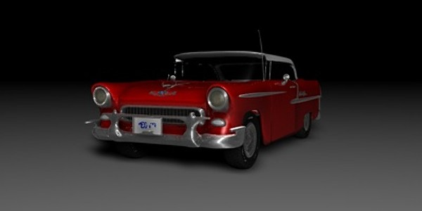 3dsmax classic chevrolet - Chevrolet 1950s Bel Air (With Interior)... by Zadok the Priest