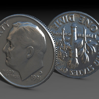 c4d photo realistic coins - US Coins Collection C4d... by Marketing Arts Group