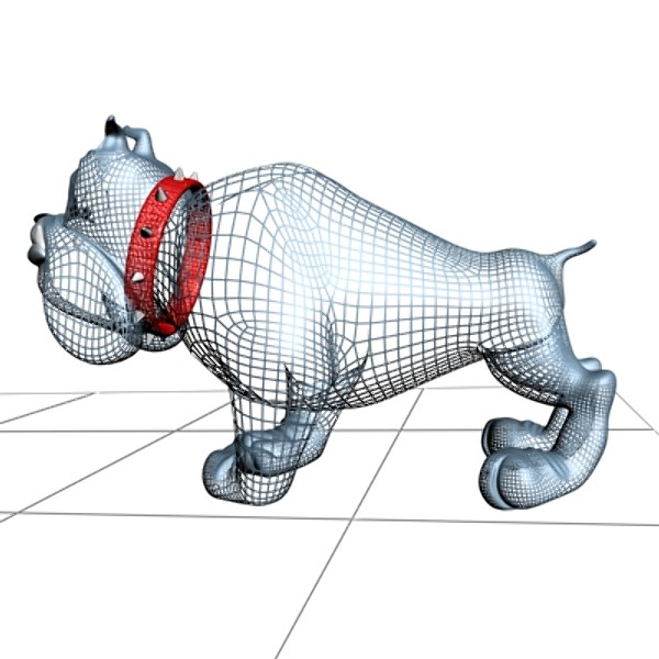 3d cartoon bulldog - Crazy dog cartoon 3D... by supercigale