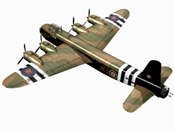 maya short stirling glider tug - Short Stirling Glider Tug... by pbratt