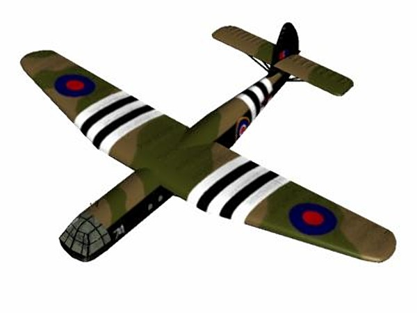 short stirling glider tug 3d model - Short Stirling Glider Tug... by pbratt