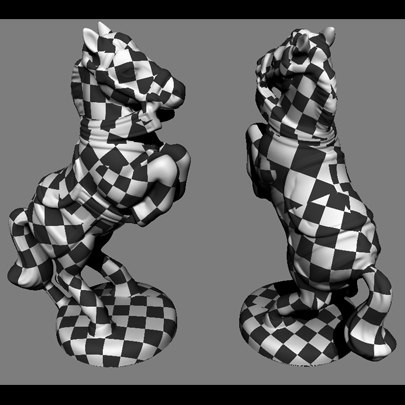 3d chess figures horse - Antique Chess Horse... by ink3d