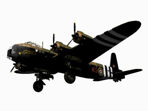 3ds max short stirling glider tug - Short Stirling Glider Tug... by pbratt