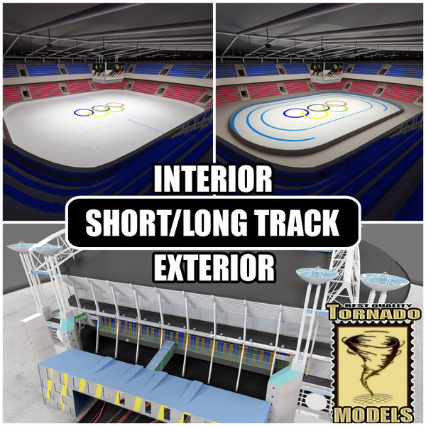 short long track arenas 3ds