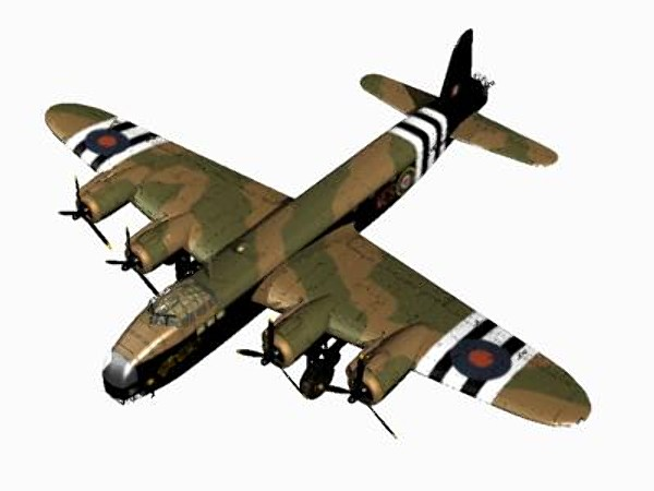 3d short stirling glider tug model - Short Stirling Glider Tug... by pbratt