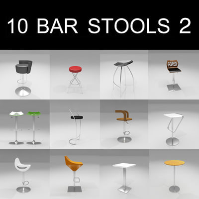 10 bar stools max