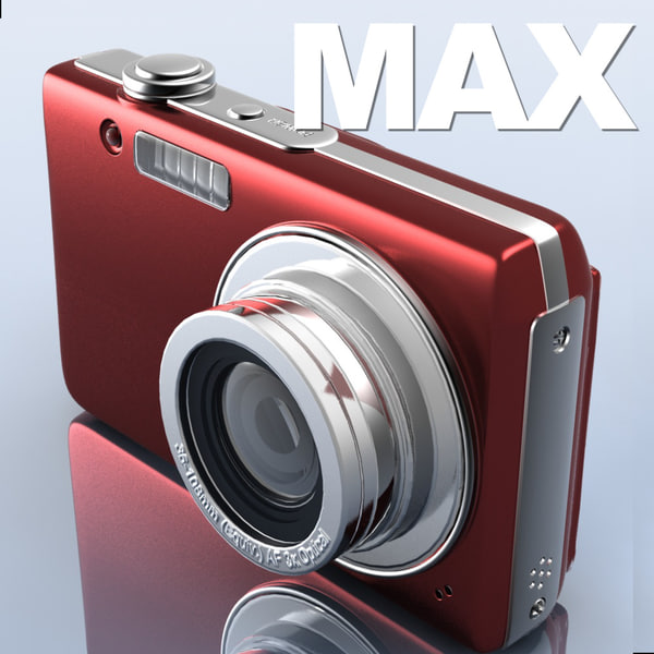 3d photocamera generic digital model