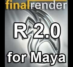 finalRender R2  for Maya