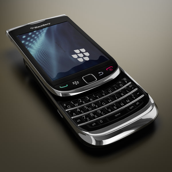new blackberry 9800 torch 3d model
