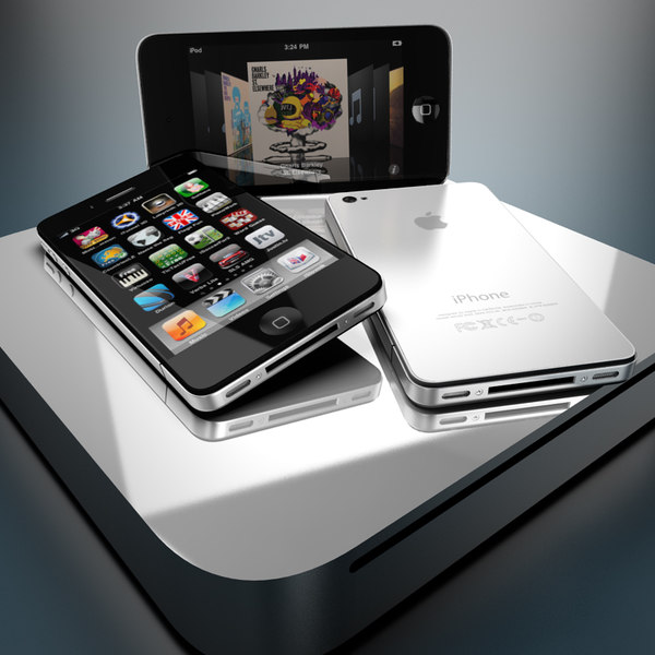 new iphone 4 ipod 3d model