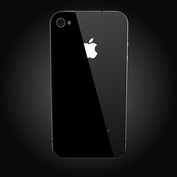 apple iphone 4 3d model - Apple iPhone 4... by Artem_Shvetsov