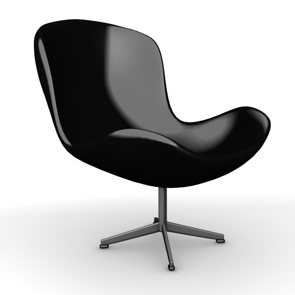 3ds max modern chair