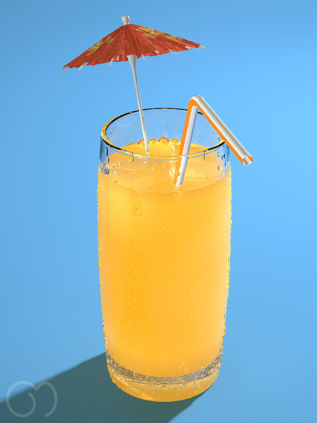maya orange juice - Orange Juice... by goodmesh