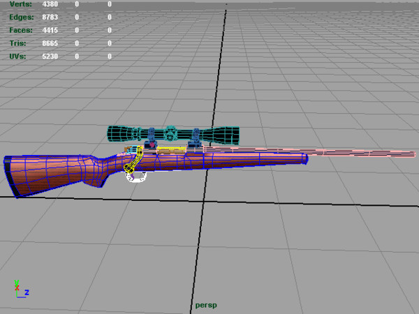 3d 243 deer rifle scope model - .243 Deer Rifle... by toRigOrNotToRig
