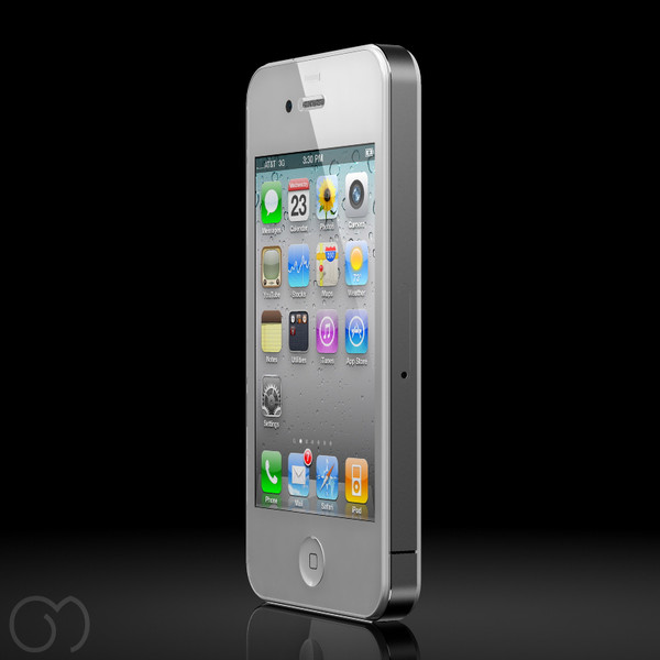 maya apple iphone 4 - Apple Iphone 4... by goodmesh