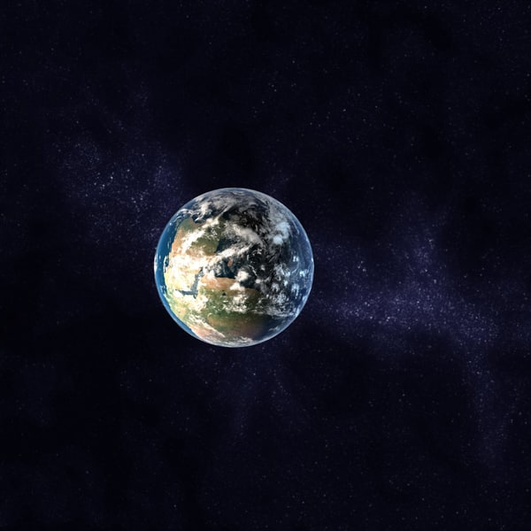 3d model jurassic earth early - Early Jurassic Earth c4d... by MichaelTaylor3D