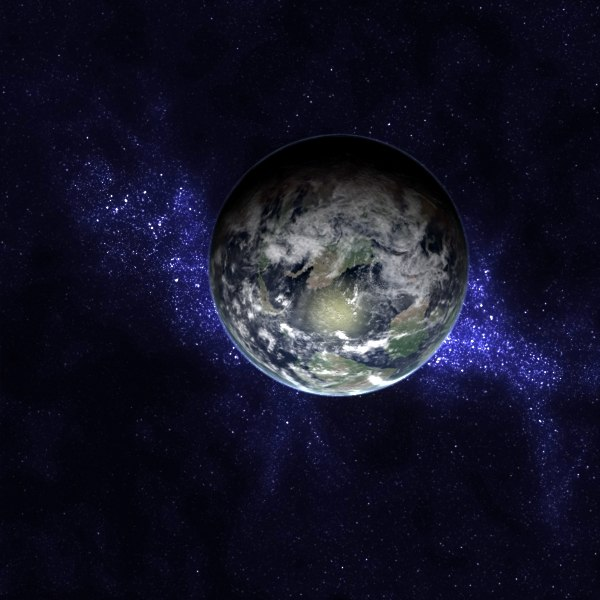 cretaceous earth late 3d max - Late Cretaceous Earth... by MichaelTaylor3D