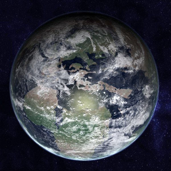 tertiary earth max - Tertiary-Cretaceous Earth... by MichaelTaylor3D