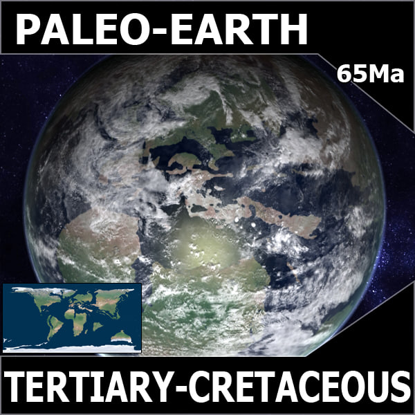 Tertiary-Cretaceous Earth
