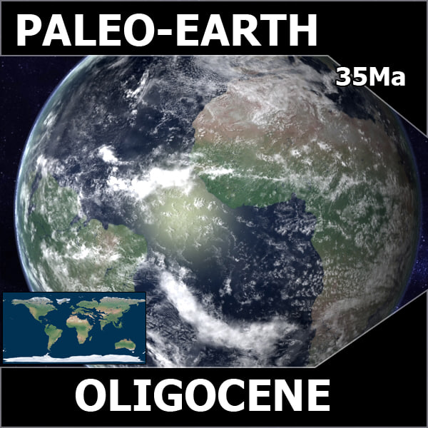 Oligocene Earth