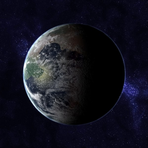 amasia future earth pangea max - Future Earth - Pangea Amasia... by MichaelTaylor3D