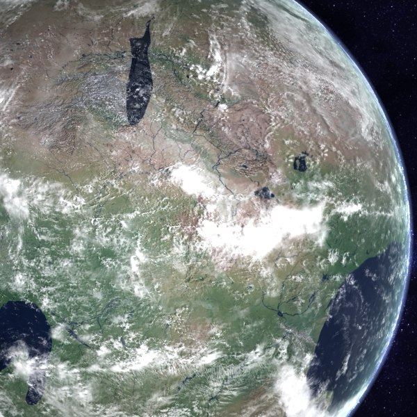 pangea proxima future earth 3d max - Future Earth - Pangea Proxima... by MichaelTaylor3D