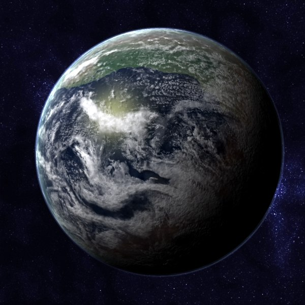maya novopangea future pangea earth - Future Earth - Novopangea... by MichaelTaylor3D