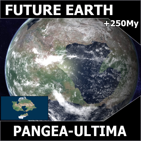 3d pangea future ultima earth - Future Earth - Pangea Ultima... by MichaelTaylor3D