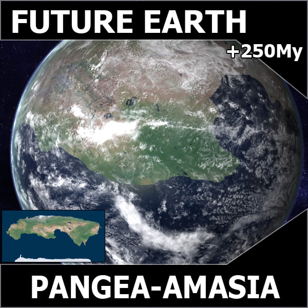 amasia future earth pangea max