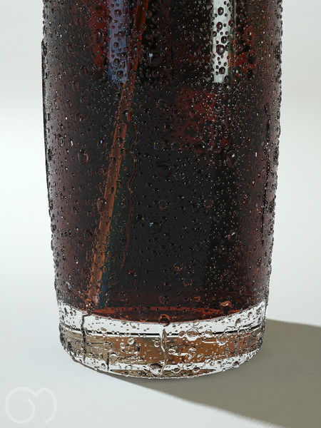 3d model cola bubbles slice - Cola... by goodmesh
