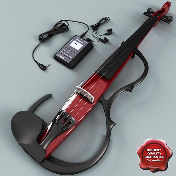 3d yamaha sv-150 silent violin