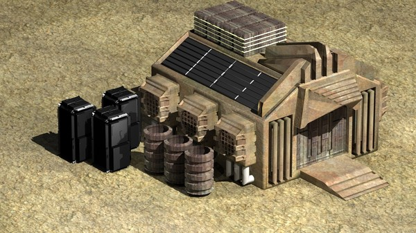 3ds max mars container - Mars-Container-Structure... by Insect.Digital.Alchemy