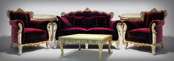 Angelo Cappellini livingroom set