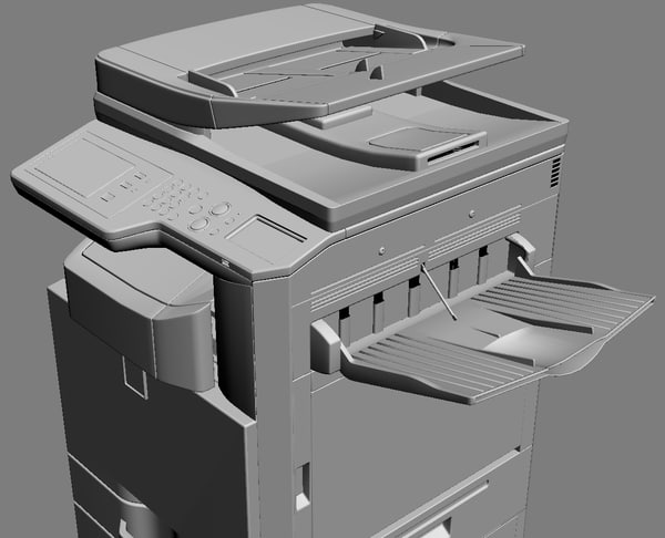mfp sharp mx-2310u 3d model - MFP SHARP MX-2310U... by iljujjkin