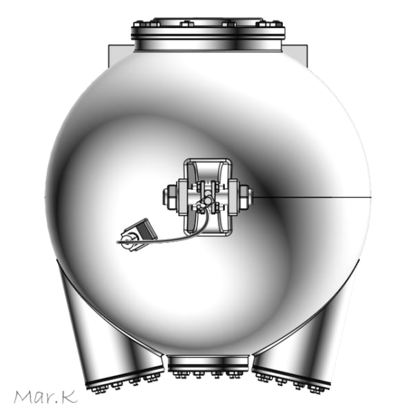 3d bathysphere william beebe - Bathysphere... by Mar.K