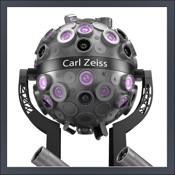 projector carl zeiss starmaster 3d model - Projector Carl Zeiss Starmaster ZMP TD... by Tornado Studio