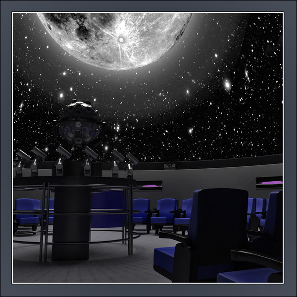 planetarium planet 3d 3ds - Planetarium... by Tornado Studio