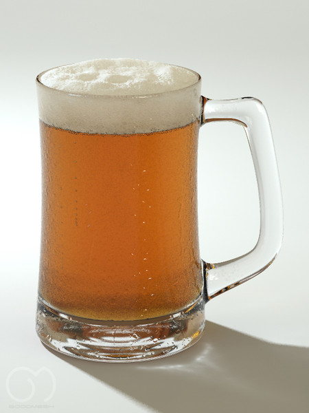 3d obj photorealistic glass beer - Beer... by goodmesh