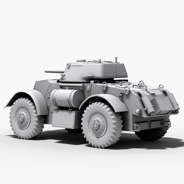 t17 e staghound armored 3d max - T17 E Staghound armored vehicle... by Sandu_Bublic
