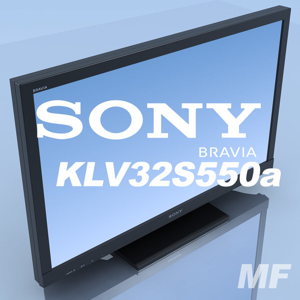 3ds tv sony bravia kdl-40hx800 - TV SONY Bravia KDL-40HX800 MF... by 3DLocker